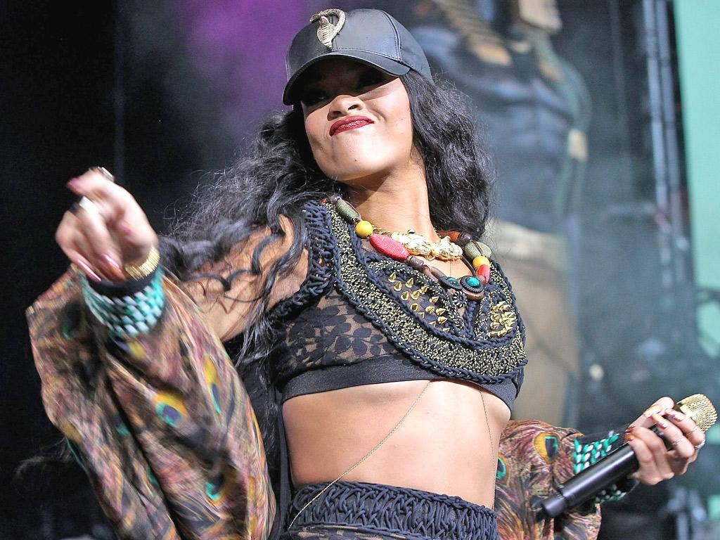 Gone bad: two songs by Rihanna have plagued one French man