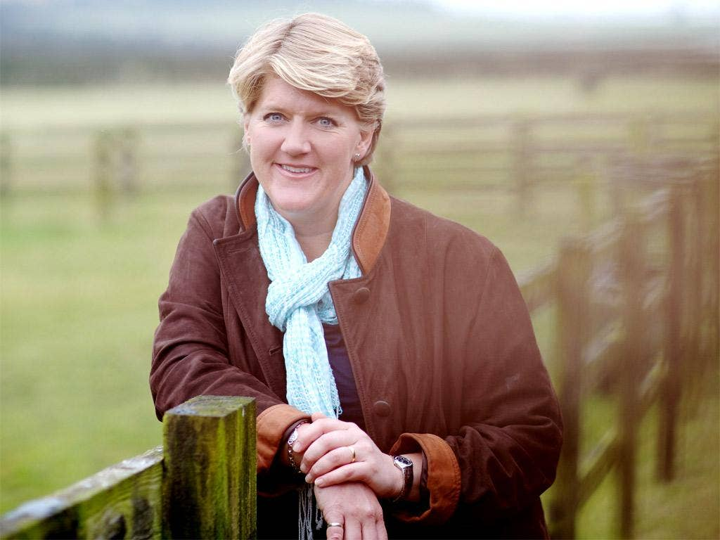 Field day: Clare Balding read from her new book