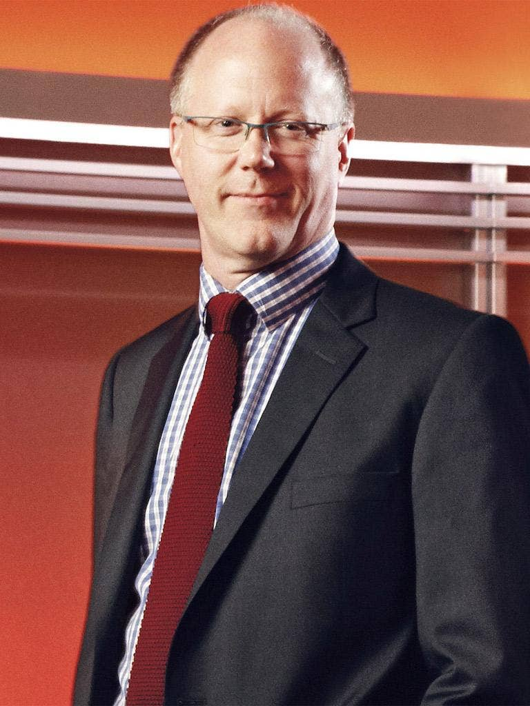 New BBC director general, George Entwistle, says he is looking forward to seeing a change in the presenting line-up on 'Today'
