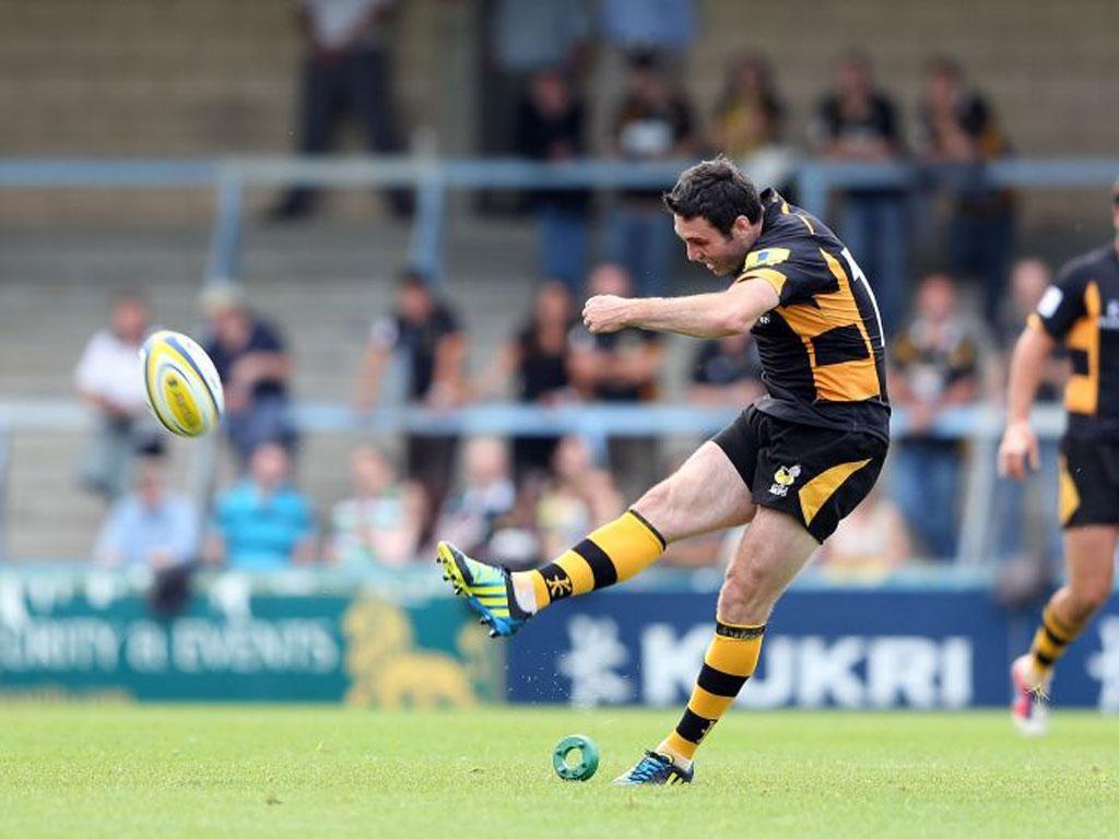 Stephen Jones in action against London Irish last weekend