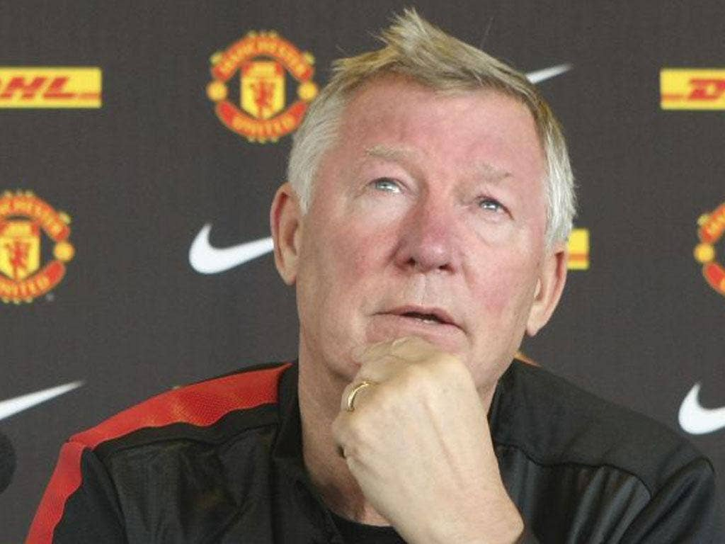 Sir Alex Ferguson is expecting an emotional day at Anfield