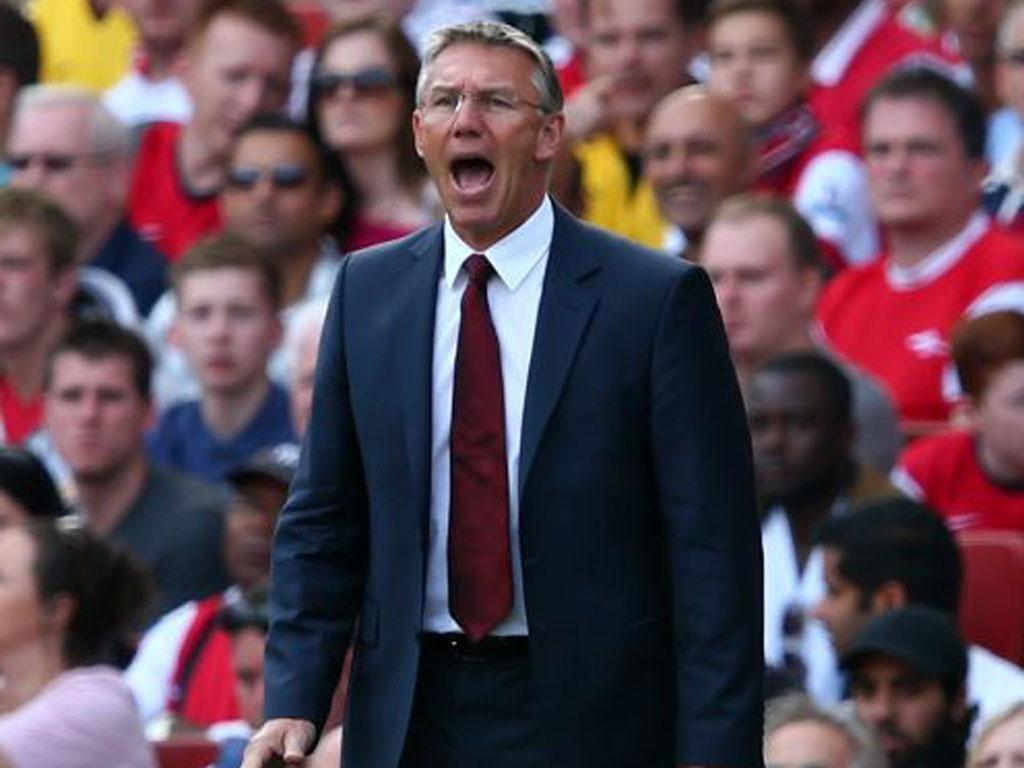 Nigel Adkins is under pressure after Southampton's poor start