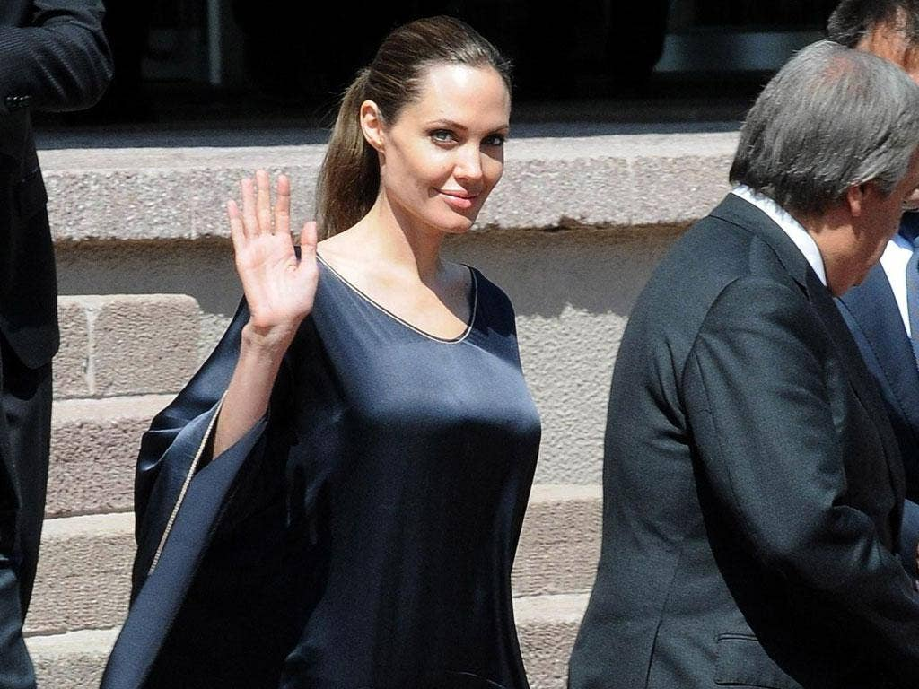 QTWTAIN: Could Angelina Jolie be the first female US President?