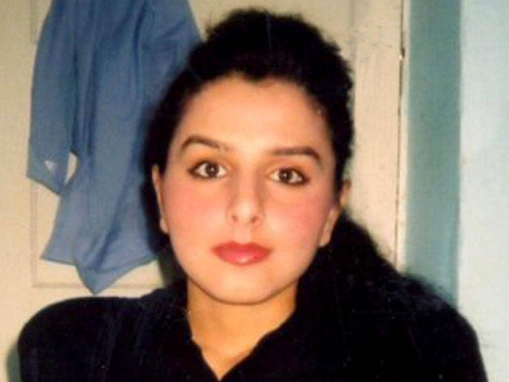Banaz Mahmod who was murdered in an 'honour killing'