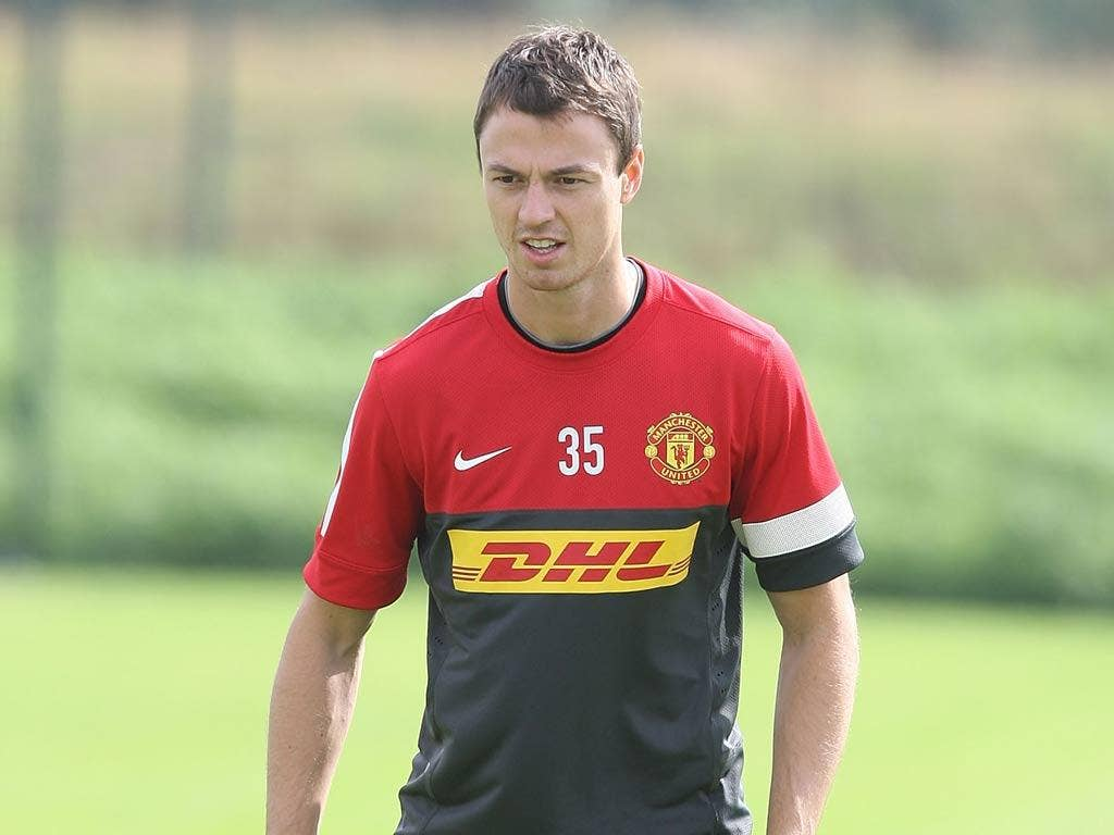 <b>Jonny Evans</b><br/> Evans had a calf injury in December 2011 which put him in the treatment room for two weeks. He was forced off at half-time in the 5-0 win over Wigan upon his return, leaving United without a fit centre-back.