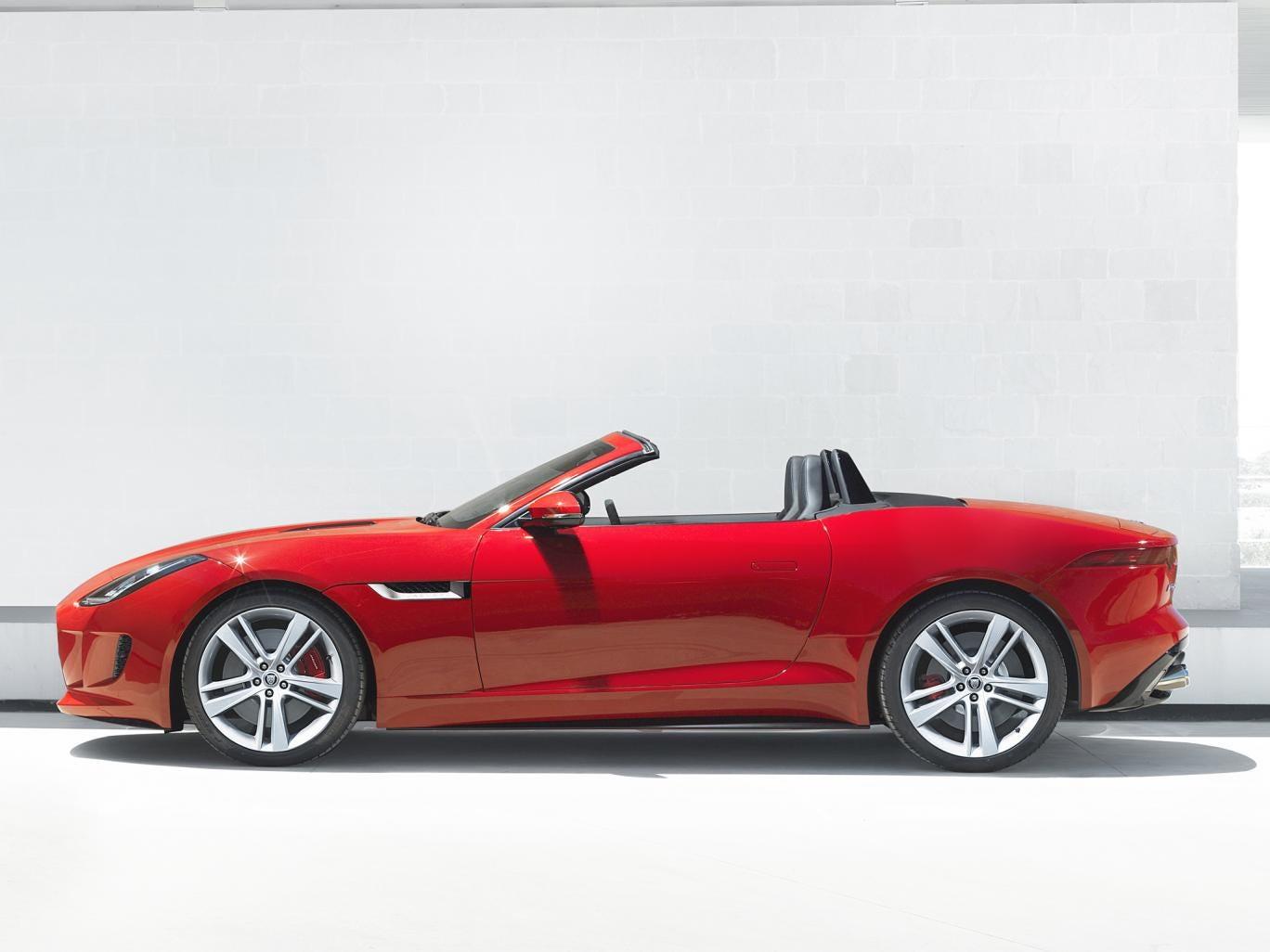 The new Jaguar F-Type unveiled in Paris