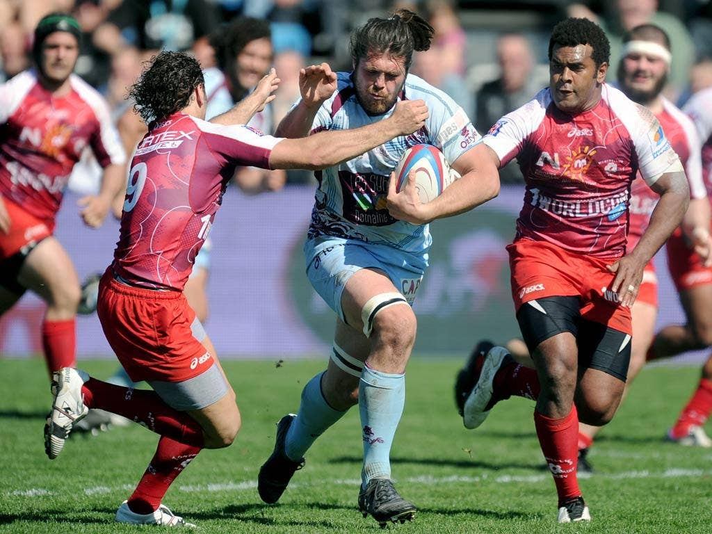 Wessel Jooste in action for Bourgoin