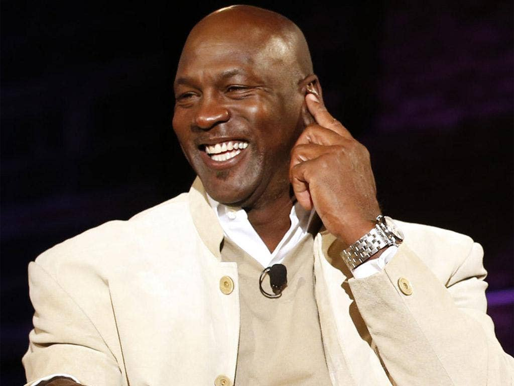 Michael Jordan will be with the United States team throughout the match