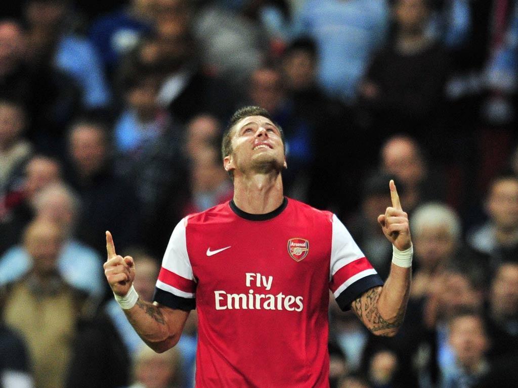 Arsenal striler Giroud