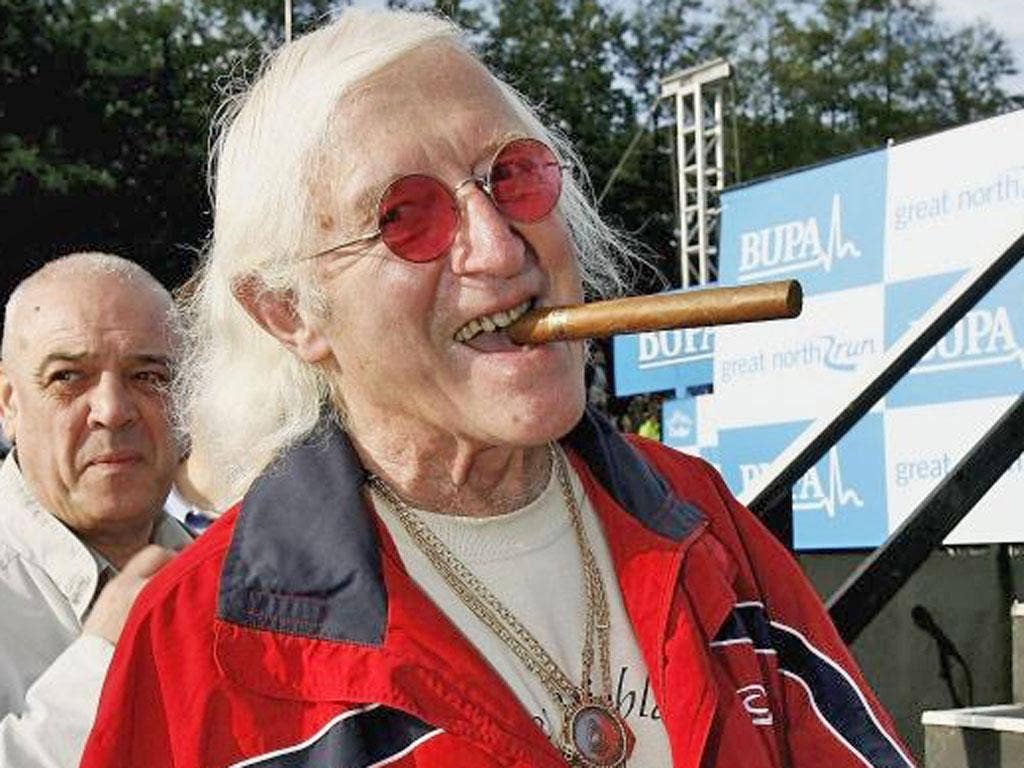 Sir Jimmy Savile has been accused of assaulting girls as young as 14