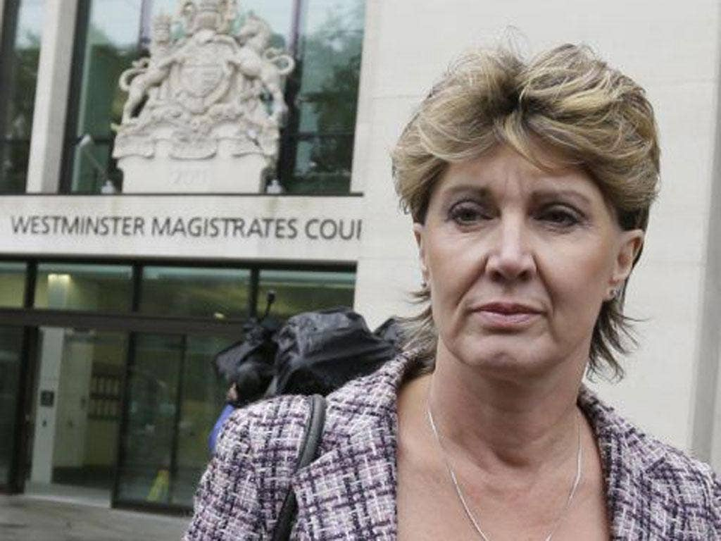 April Casburn faces a charge of misconduct in public office