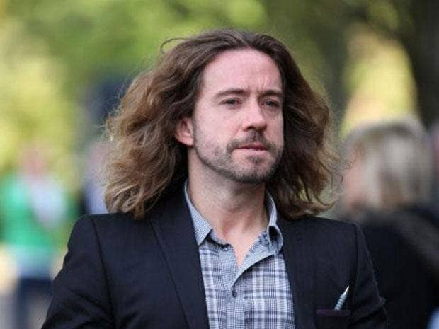 Justin Lee Collins has never hit anyone in his life, he told his trial for domestic and emotional abuse today