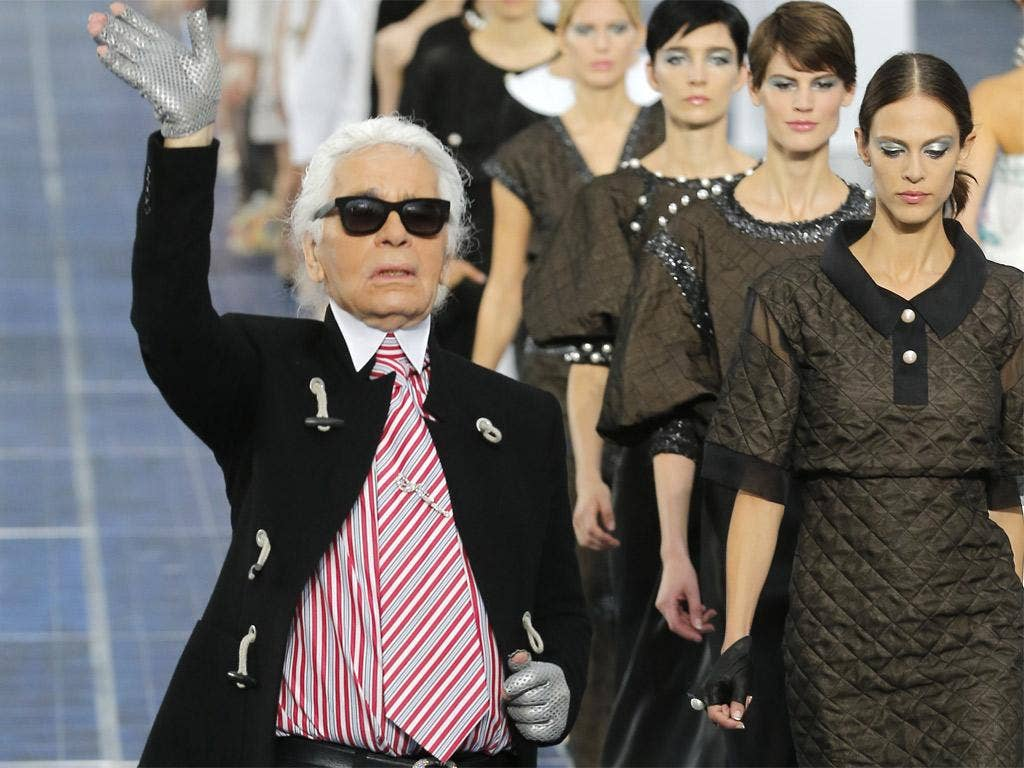 Lagerfeld: 'I love what I do. That's the best motivation there is'