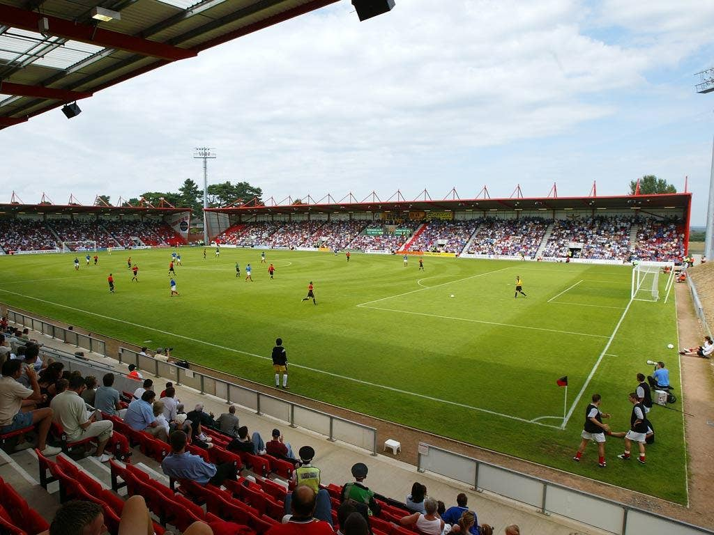 A view of Bournemouth's ground