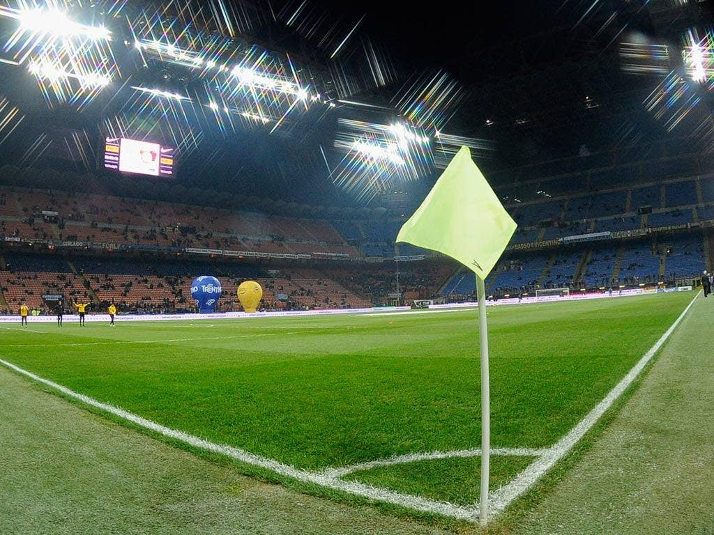 A view of the San Siro