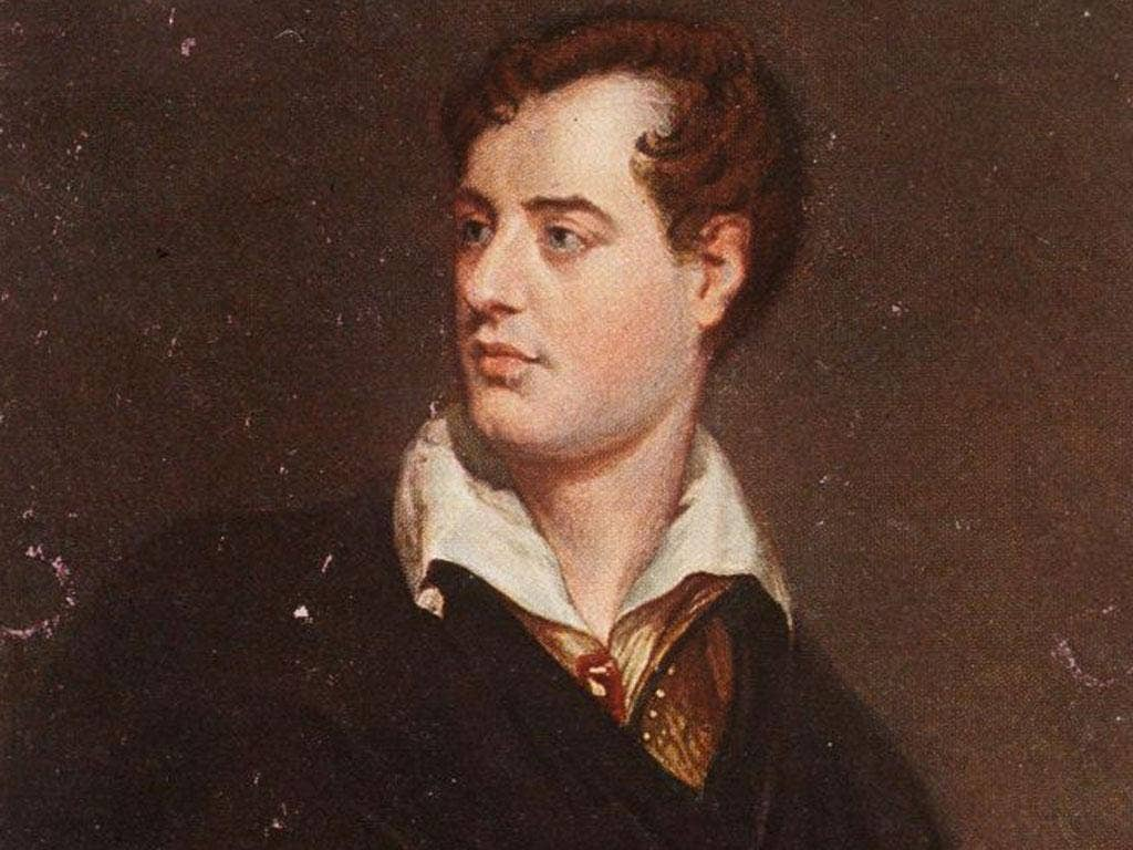 A plaque in London's Oxford Street is unveiled in honout of one of the greatest British poets, Lord Byron