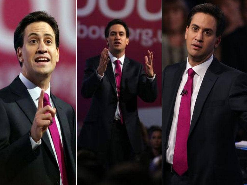 Ed Miliband planned his conference speech in 11 separate sections