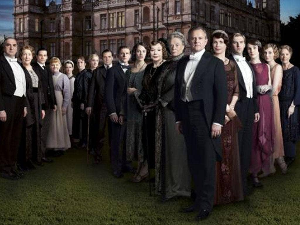 Downton Abbey: Fellowes' biggest success would also qualify, as it has a British cast and makes lavish use of Highclere Castle in Berkshire