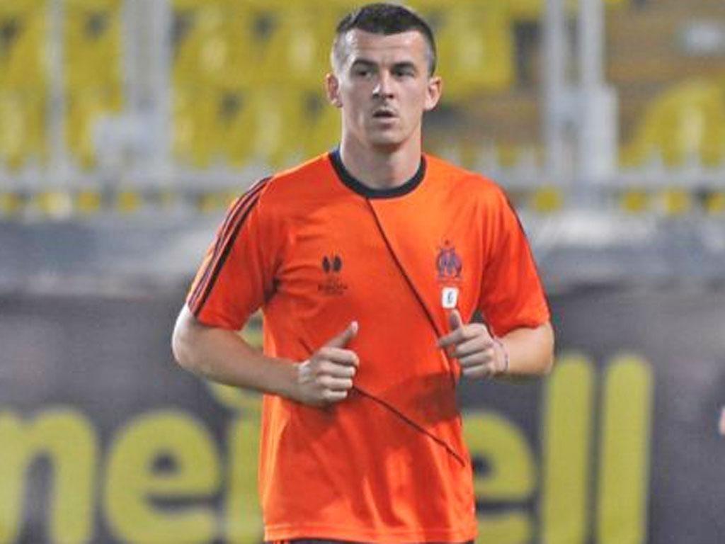 Joey Barton will make his debut at the Stade Veledrome tonight