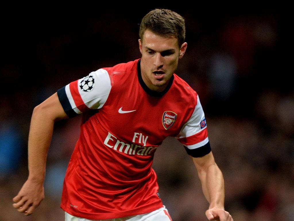 Aaron Ramsey: The Arsenal midfielder was out for a year after breaking his leg in 2010