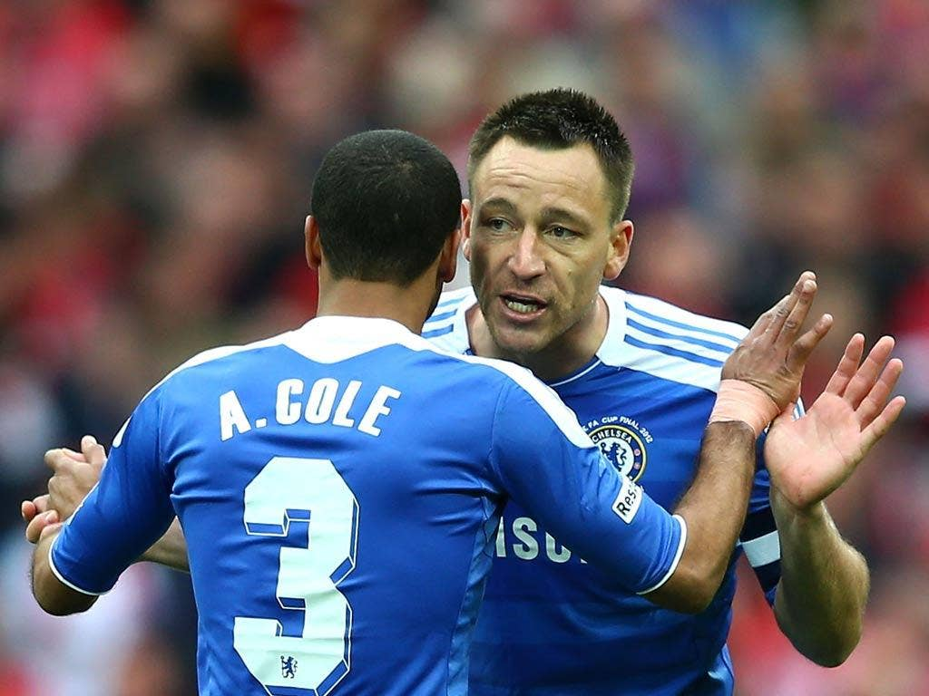 Ashley Cole and John Terry