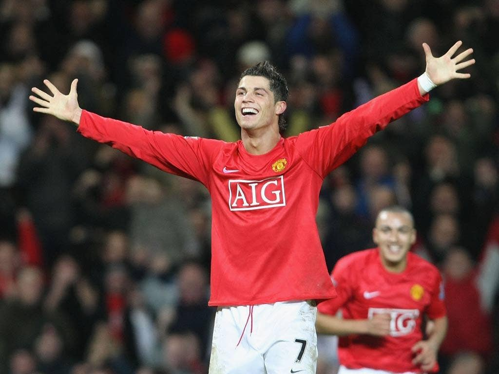 <b>v Newcastle, 12 January 2008</b><br/> Despite scoring over 100 goals during his time at Manchester United, Ronaldo would score only the one hat-trick. It came against Newcastle in the Premier League. Ronaldo scored from a wonderful flowing move and boo