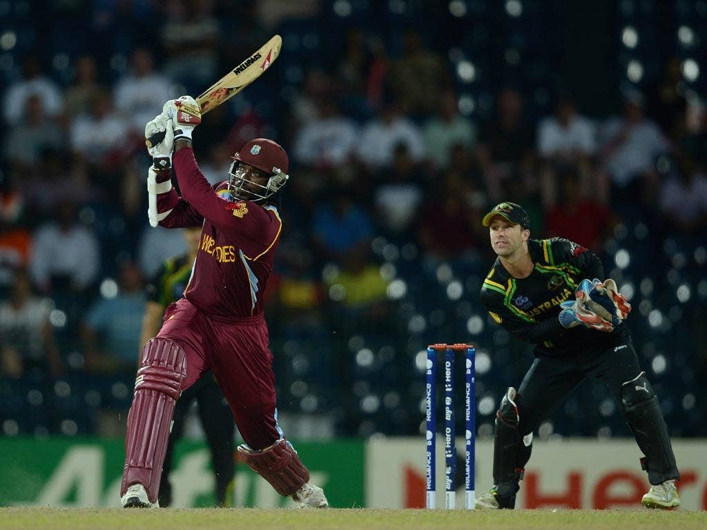 Chris Gayle hits out against Australia