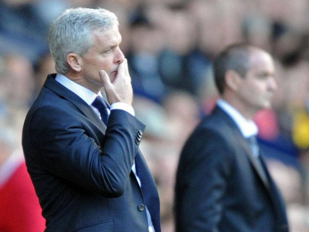 Mark Hughes's QPR have just two points from seven games