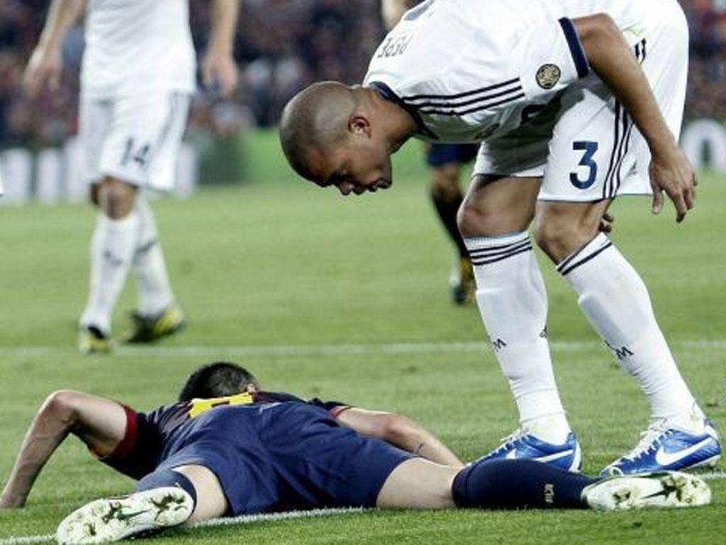 Despite Pepe's best efforts, Sunday's clasico was played in a good spirit