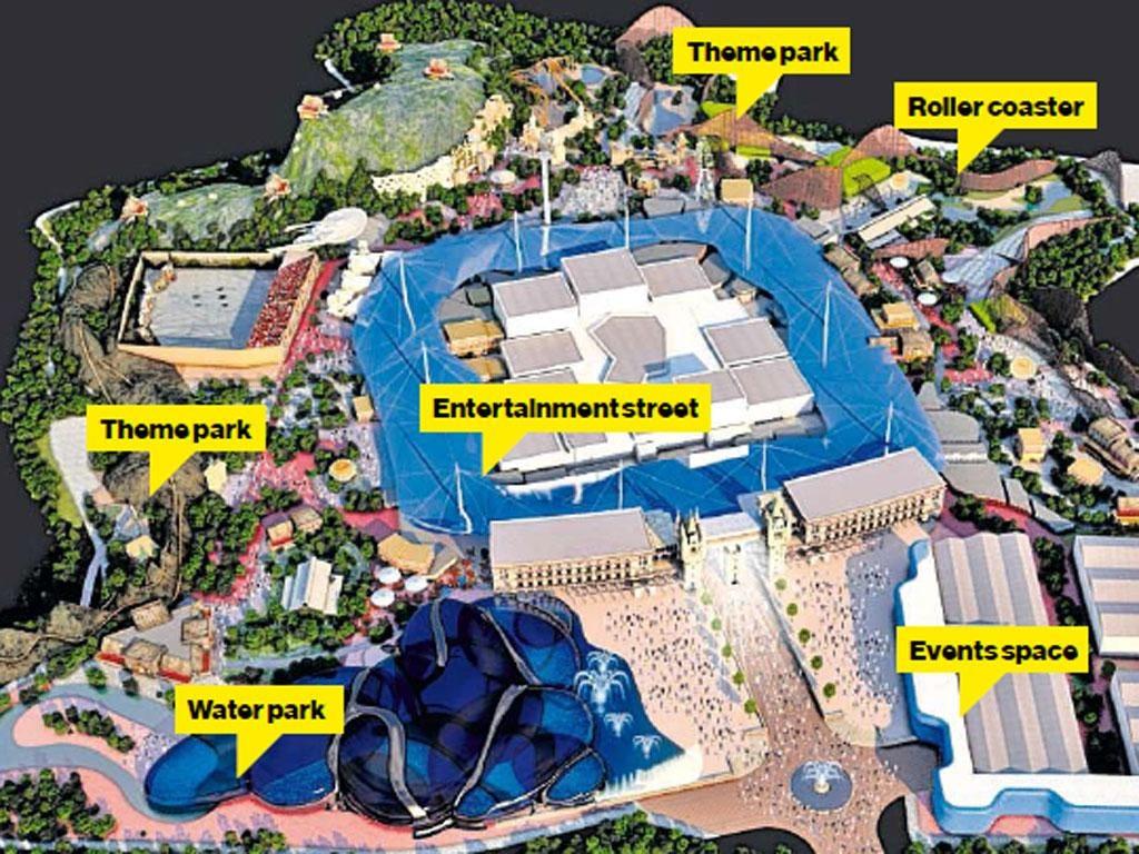 Developers plan £2bn Hollywood-inspired resort on former industrial ...