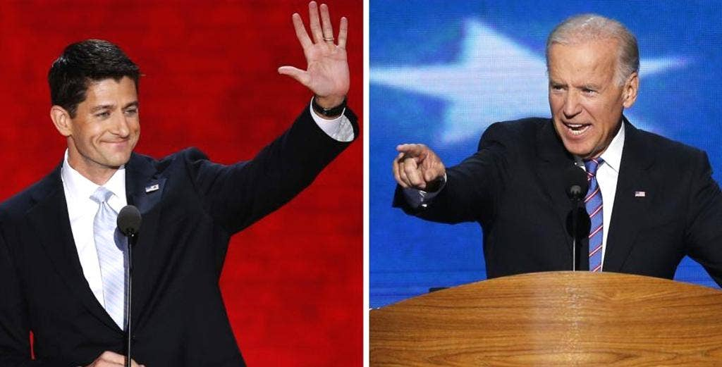 Paul Ryan and Joe Biden are set to face-off in the vice presidential debate