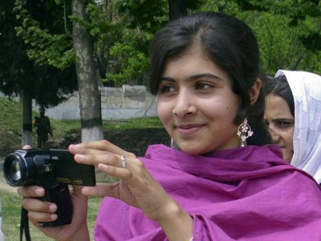 Malala Yousufzai was shot in the head while waiting on her school bus yesterday
