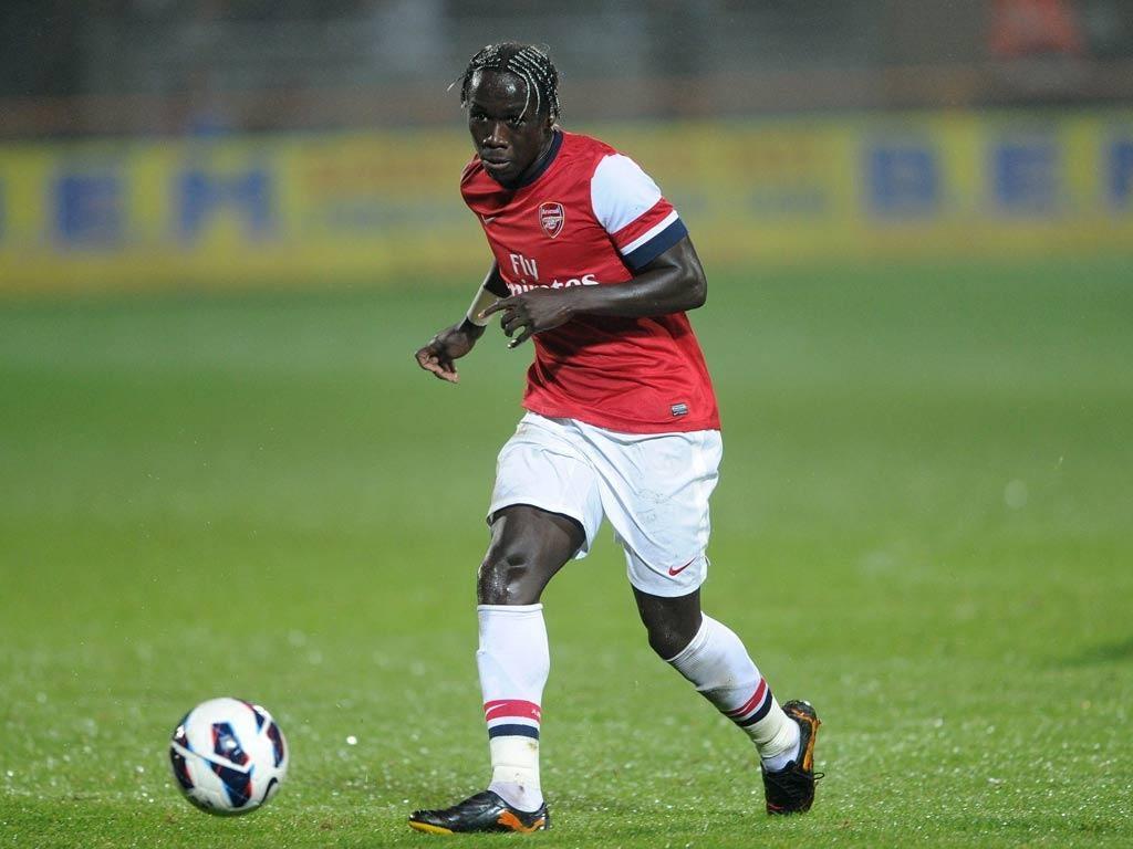Arsenal defender Bacary Sagna