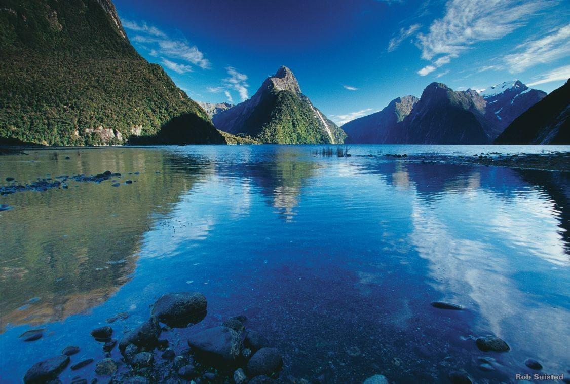 Milford Sound in summer