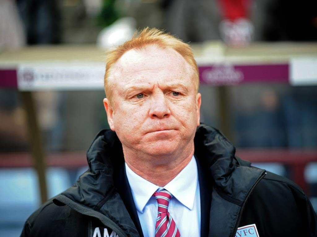 <b>Alex McLeish (Aston Villa, June 17 2011 - May 14 2012)</b><br/> The appointment of McLeish just five days after leaving Villa's arch-rivals Birmingham was greeted with mass protests and anti-McLeish graffiti outside the ground. A poor start to the seas