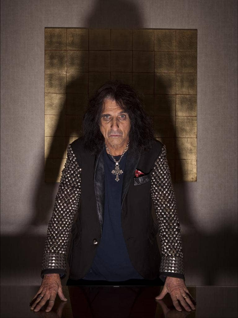 Alice Cooper, the golf-loving, God-fearing king of panto-rock