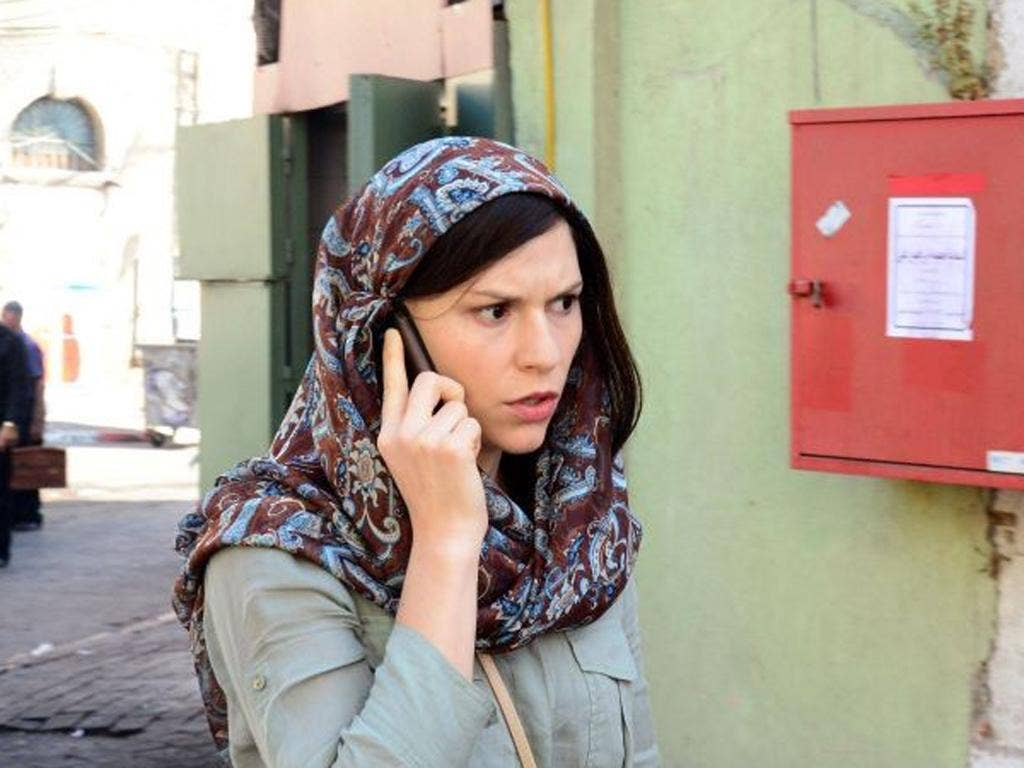 Claire Danes's discredited CIA agent, Carrie Mathison, is back in the thick of it