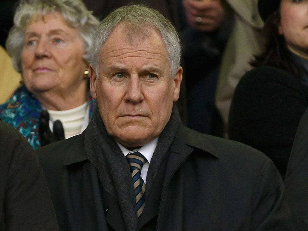 High notes: Joe Royle will be looking for the x-factor as a talent-spotter
