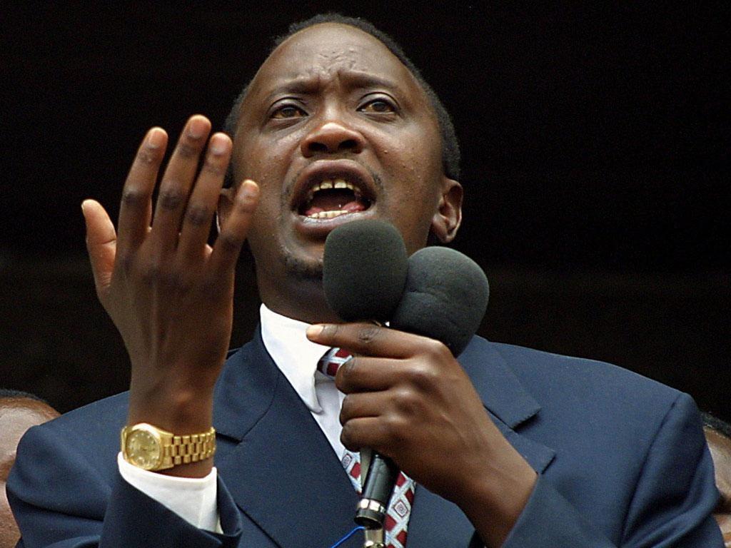 Uhuru Kenyatta is charged with crimes against humanity