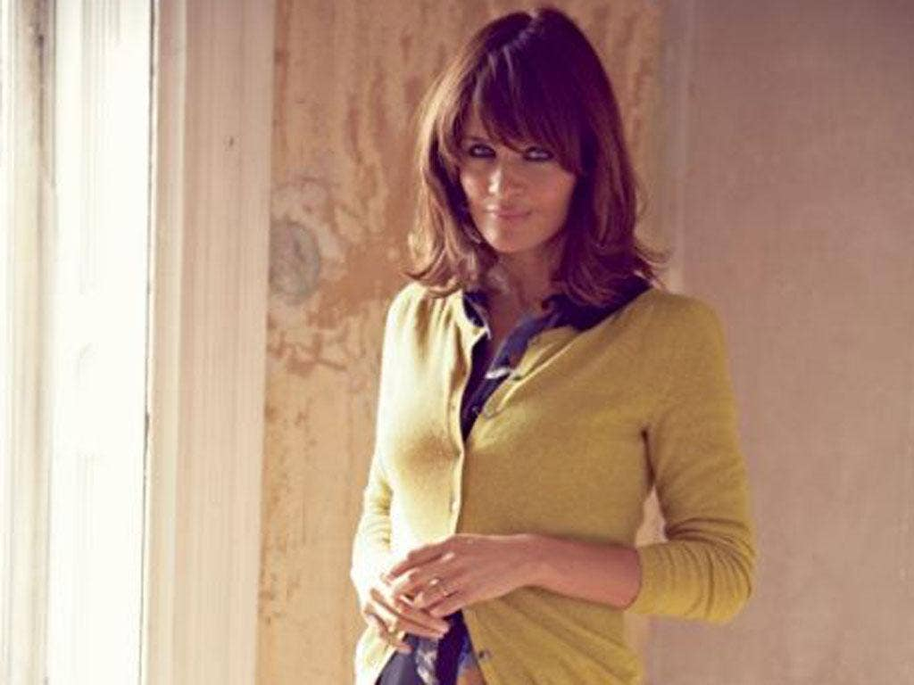 Helena Christensen in the latest Boden catalogue
