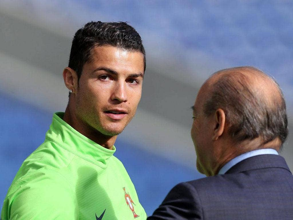 Cristiano Ronaldo is poised to win his 100th cap in the World Cup qualifier tonight