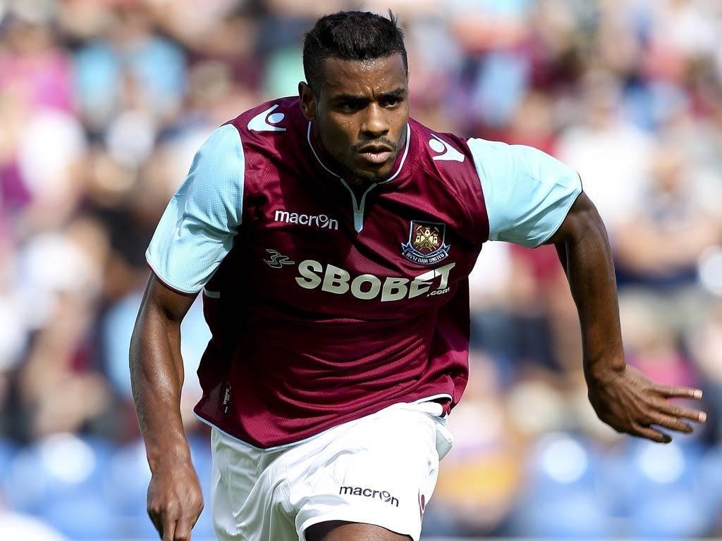 West Ham winger Ricardo Vaz Te