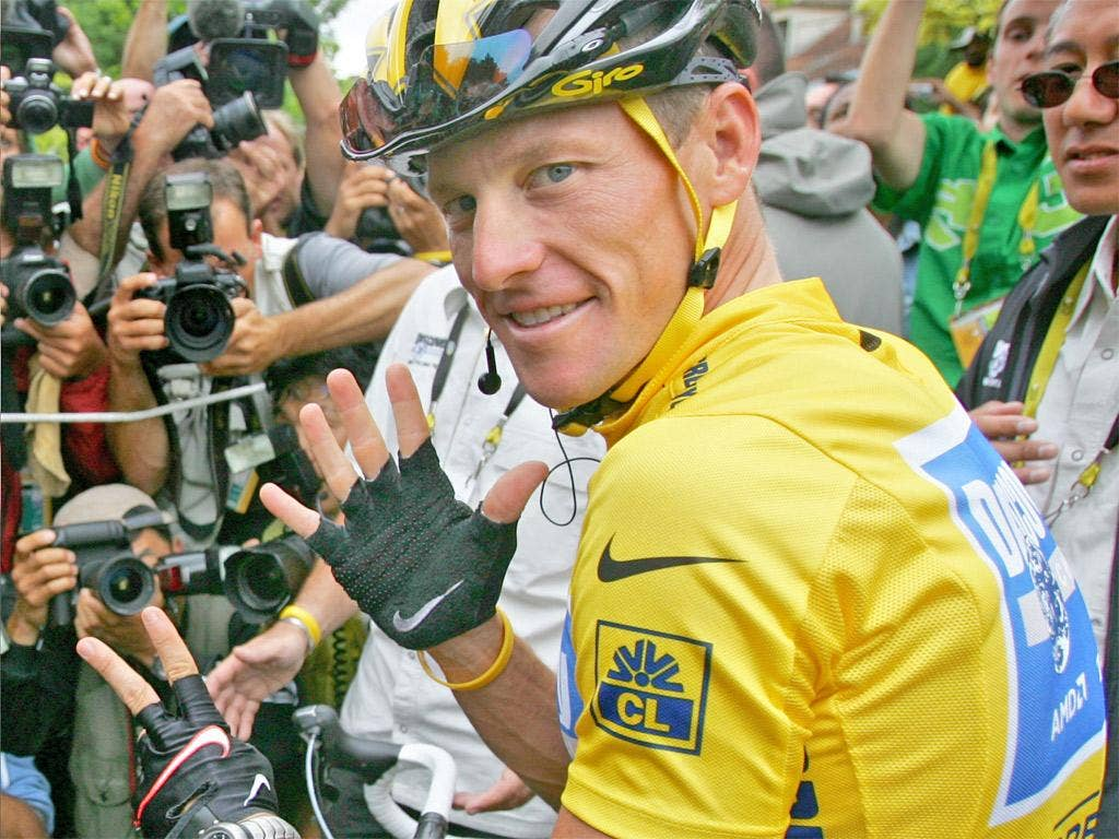 Nike have stood by Lance Armstrong despite last week's report