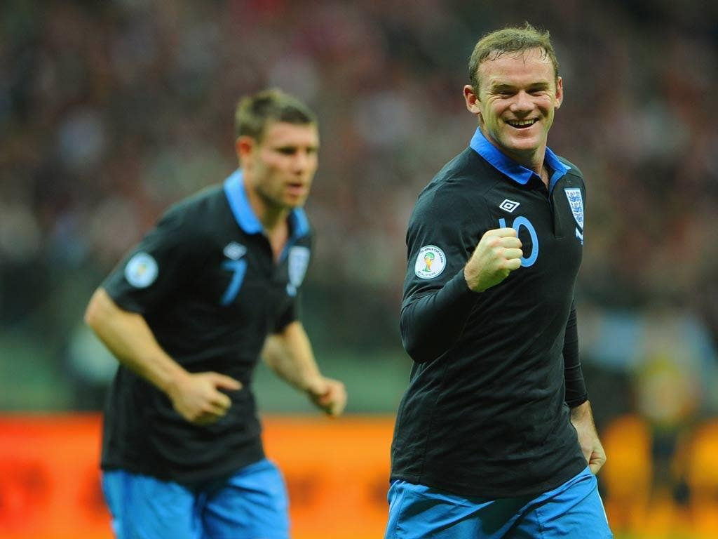 <b>WAYNE ROONEY</b><br/> Imaginative but sometimes let down by his touch, before he nodded England ahead. Replaced late on. 6/10