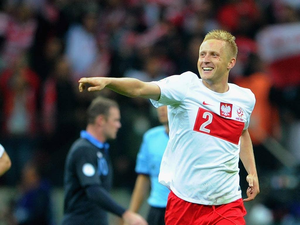 <b>POLAND RATINGS...</b><br/>    <b>TYTON</b><br/> Could not have done much with Rooney's goal and was otherwise brisk off his line. 7/10 <br/><br/> <b>PISZCZEK</b><br/> The best player on the pitch, bombaring up and down the wing, besting Ashley Cole and