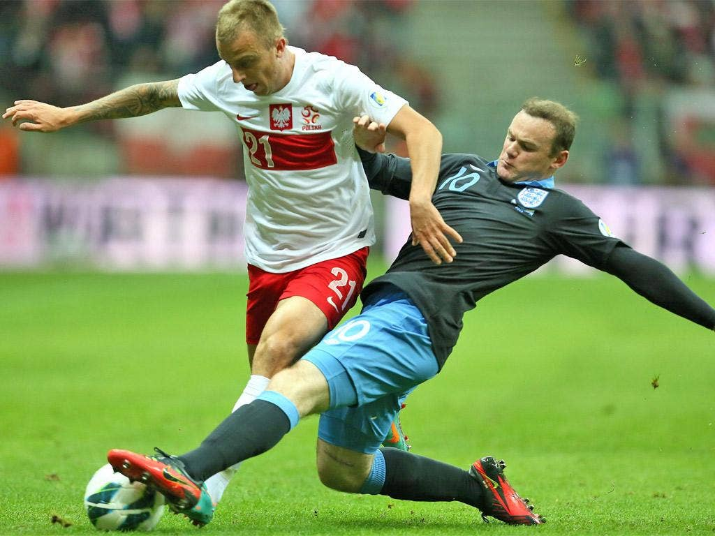 Wayne Rooney made little impact in possession and his goal had a touch of luck