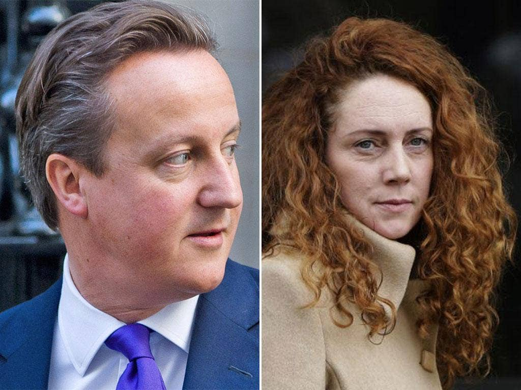 David Cameron is under pressure to release private emails exchanged with Rebekah Brooks