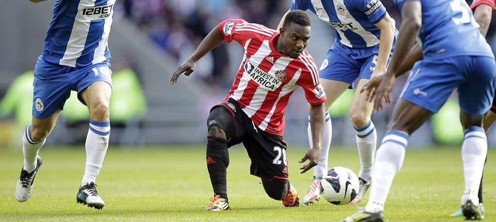 Sunderland's Beninese forward Stéphane Sessègnon has proved a bargain since his £6.7m move from PSG in January 2011
