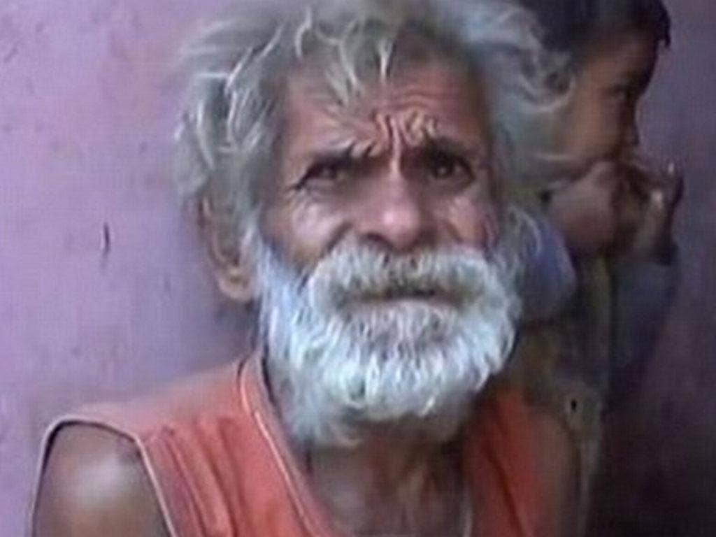 Ramjit Raghav is the world's oldest dad