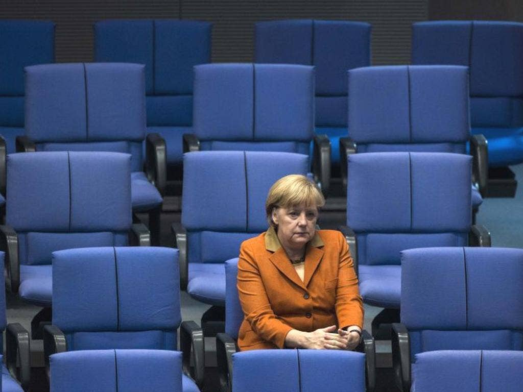 The German Chancellor Angela Merkel angered some other EU leaders before a two-day summit by calling for the European Commission to have the power to veto national budgets